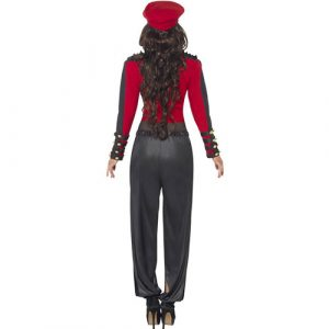Costume femme starlette pop dos