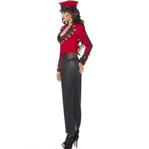 Costume femme starlette pop profil
