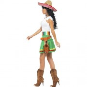 Costume femme mexicaine Tequila shooter profil