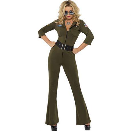 Costume femme Top Gun aviator