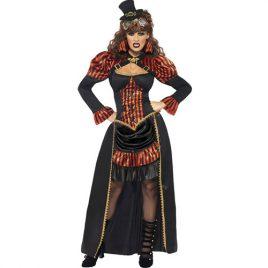 Costume femme vampiresse punk victorienne