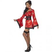 Costume femme Vodka sexy geisha profil