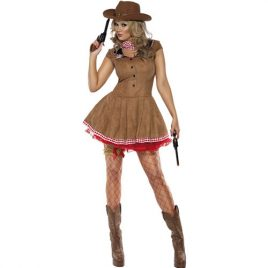 Costume femme wild west cowgirl