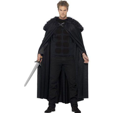 Costume homme barbare noir