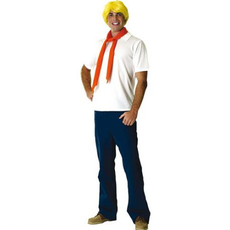 Costume homme Fred Scoobydoo licence