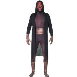 Costume homme seconde peau Darth Maul