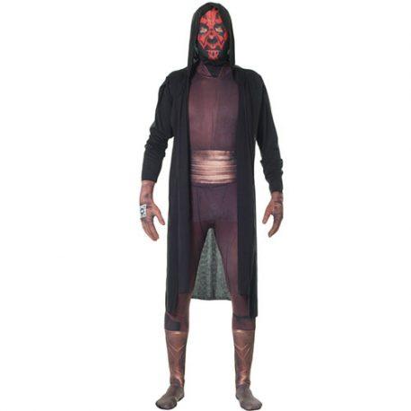 Costume homme seconde peau Darth Maul