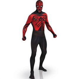 Costume homme seconde peau Darth Maul licence