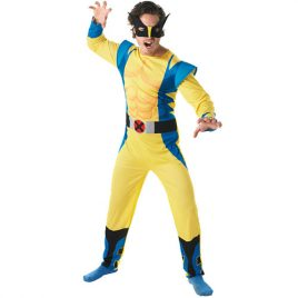 Costume homme Wolverine licence