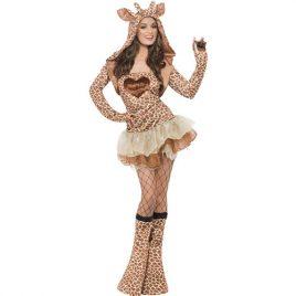 Costume femme girafe sexy