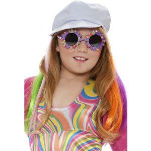 Extension cheveux multicolore