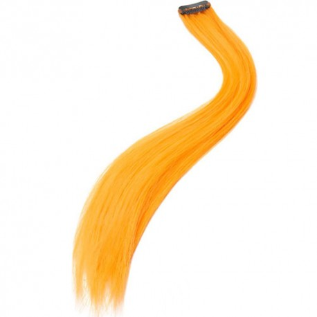Rajout extension cheveux orange