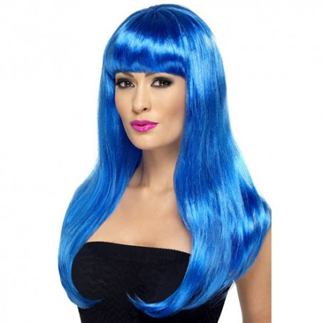 Perruque Babelicious bleue