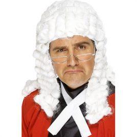 Perruque juge blanc
