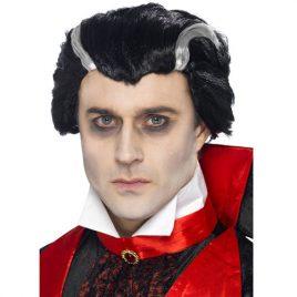 Perruque vampire Vlad noire