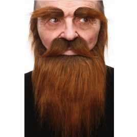 Set poils luxe homme des bois brun