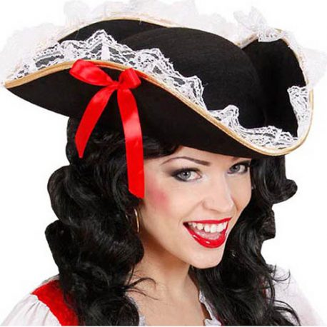 Tricorne pirate dame sexy