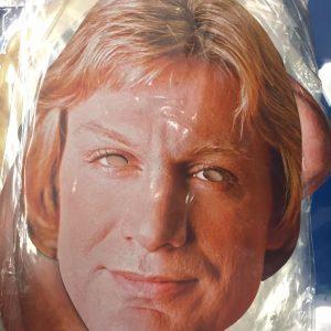 Masque en carton personnalité : Claude François