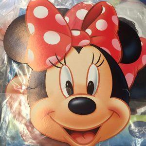 Masque en carton enfants : Minnie