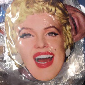 Masque en carton personnalité : Marilyn Monroe