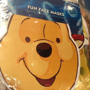 Masque en carton enfants : Winnie