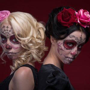 soirée déguisée : squelettes mexicains