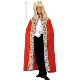 Cape royale velours rouge - Accessoire déguisement