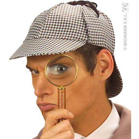 Chapeau détective Sherlock