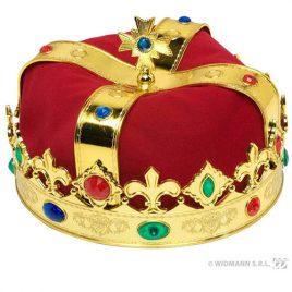 Couronne Majesté rouge