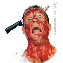 Couteau crâne transpercé