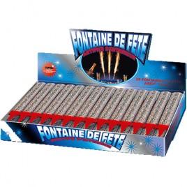 Fontaine de fête argent - Acheter feux d'artifice Paris