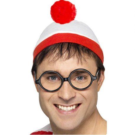 Kit Où est charlie chapeau lunettes