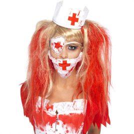 Kit infirmière ensanglantée
