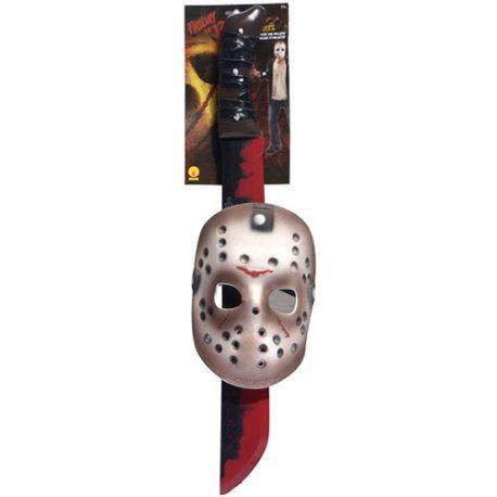 Kit licence Jason – Accessoire déguisement