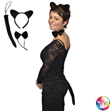 Kit chat noir – Set de déguisement