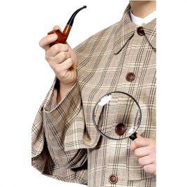Kit Sherlock Holmes - Accessoires de déguisement