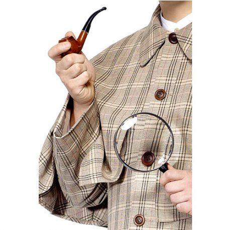 Kit Sherlock Holmes – Accessoires de déguisement