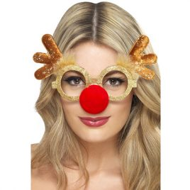Lunettes renne Noël