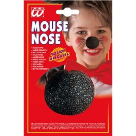 Nez de clown mousse noir