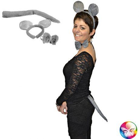 Kit souris grise – Accessoire déguisement