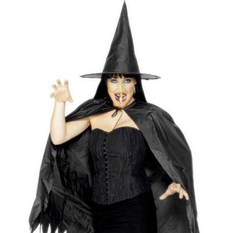 Kit sorcière noire adulte – Accessoires déguisement