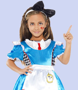 Costume enfant alice