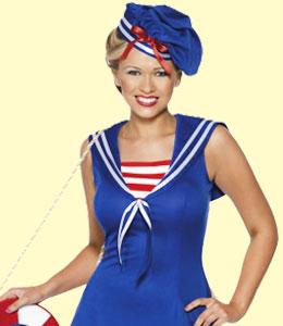 Costume femme marinière