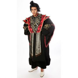 Souverain asiatique Collection Prestige, déguisement Paris qualité supérieure