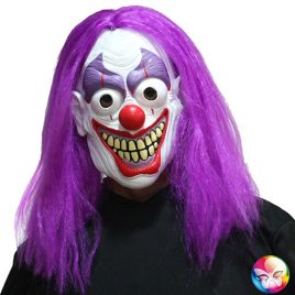 Masque complet clown effrayant