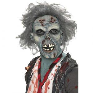 Masque zombie avec cheveux