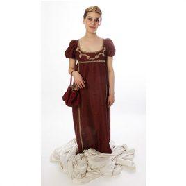 Robe Sainte Hélène Collection prestige, déguisement Paris qualité supérieure