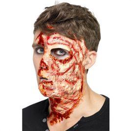 Visage brûlé et balafré Maquillage Effets spéciaux