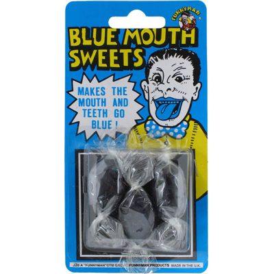 bonbons bouche bleue.