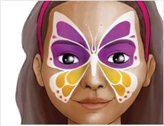 Maquillage enfant : le Papillon